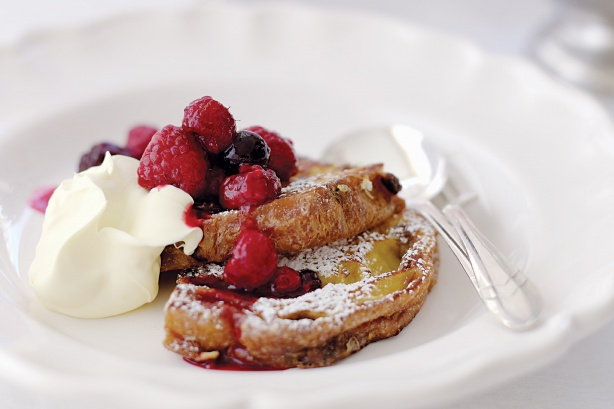 panettone french toast cooking sweets and desserts panettone french ...