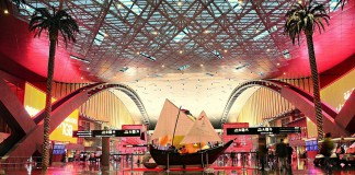 Hamad International 'world's coolest airport,'
