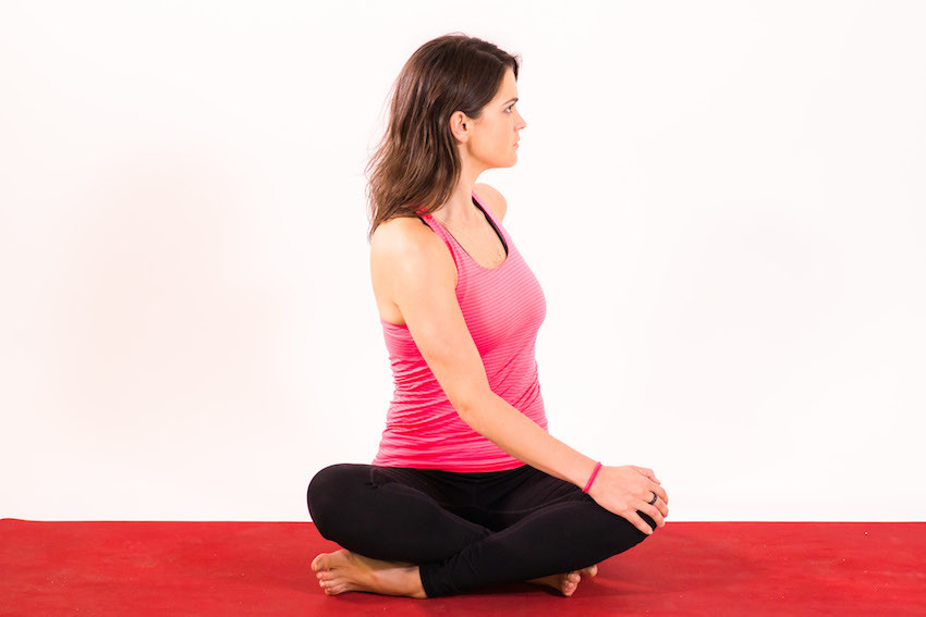 Simple Seated Twist