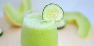 Cucumber Melon Smoothie