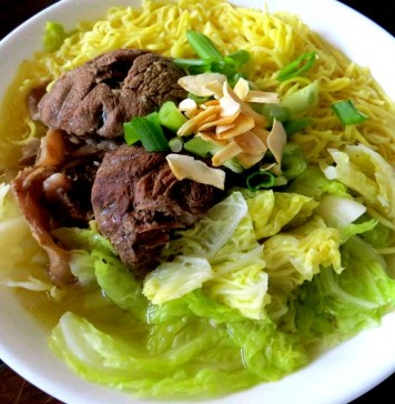 Beef Mami Noodle Soup