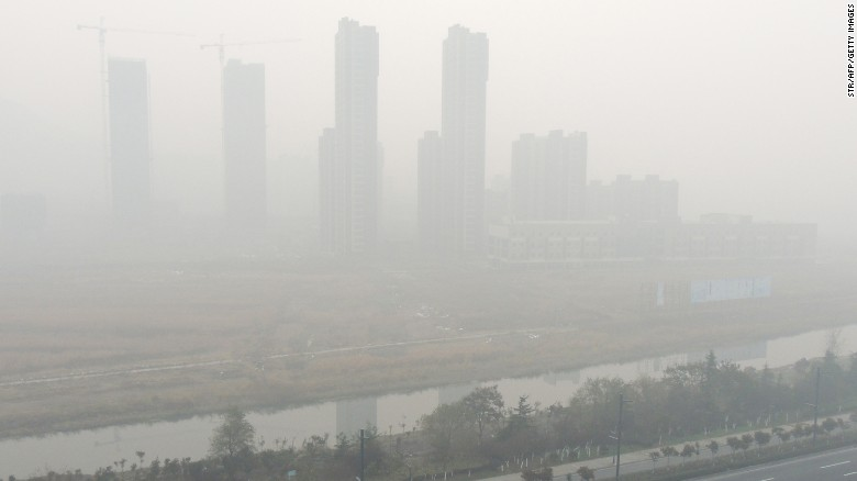 Beijing issues first red alert