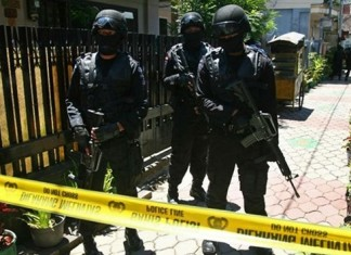 Indonesia arrests three with suspected