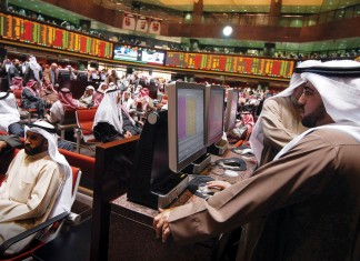 Qatar closes flat, Saudi shares fall