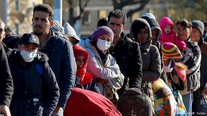 One million migrants and refugees