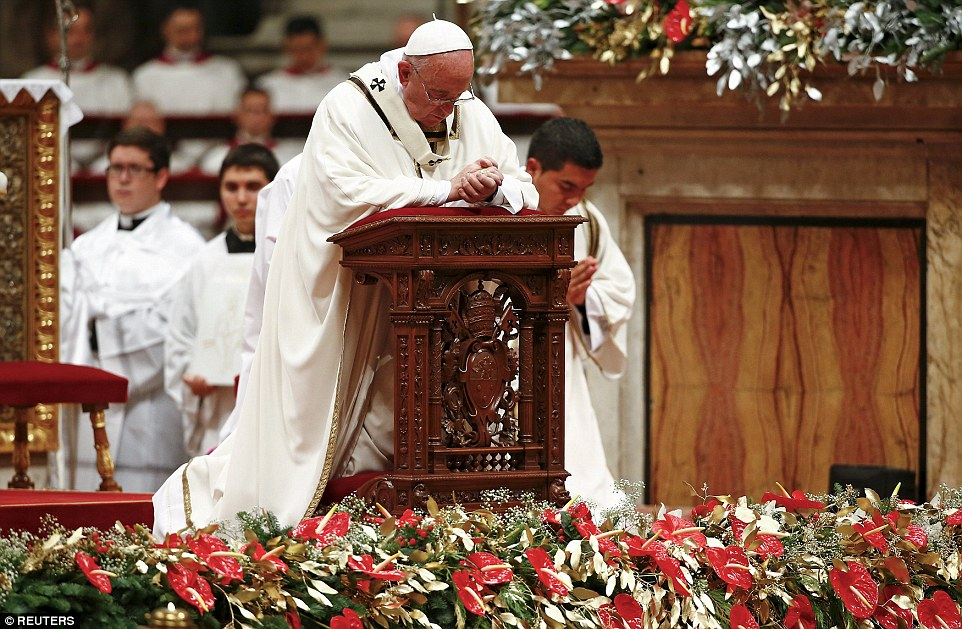 Pope Francis calls for compassion in his Christmas message