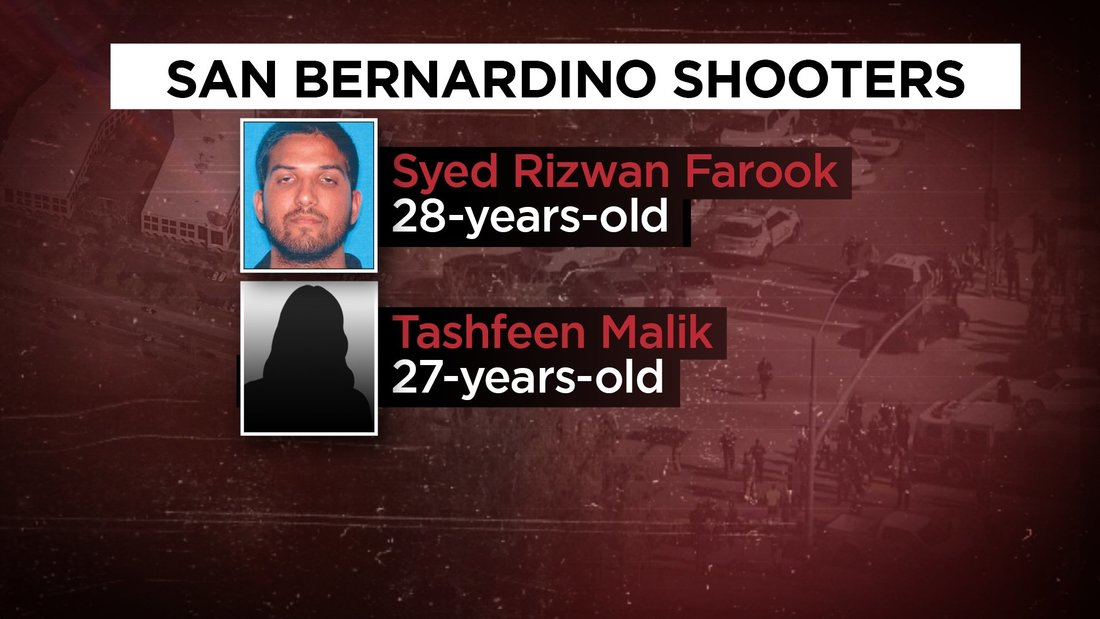San Bernardino shooters 'supporters' of ISIS