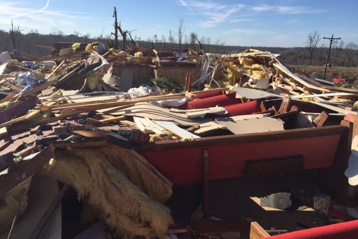 Tornadoes, storms kill at least 14 people