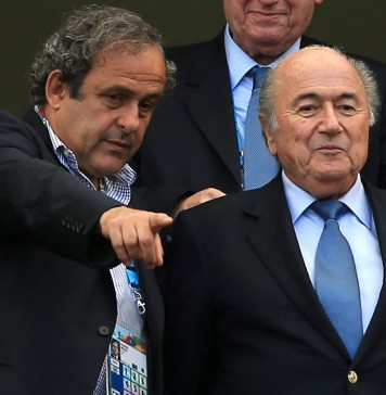 Blatter, Platini now free to appeal bans