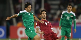 Iraq edge past Qatar in play off