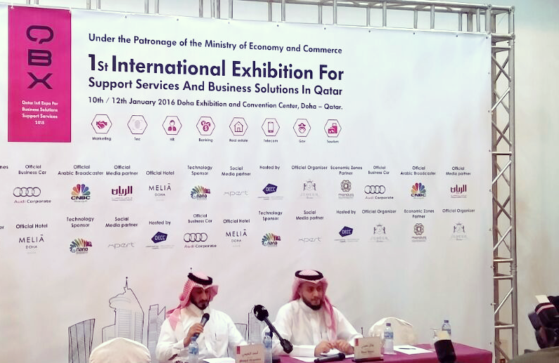 Launch QBX-Expo 2016 in Qatar