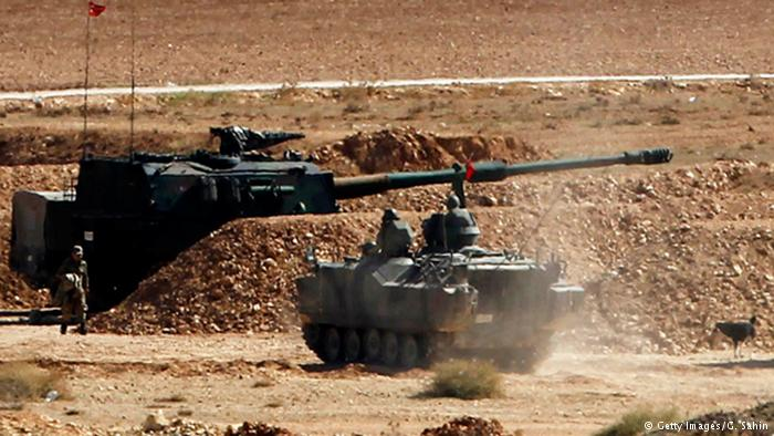 Turkey shells 'IS' targets in Syria