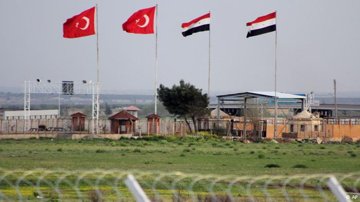 Turkish school hit by cross-border