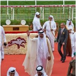 Crowds in Qatar cheer on favorite horses at Emir's Sword tournament