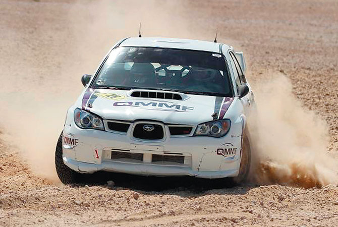 International Rally flag off at Corniche today