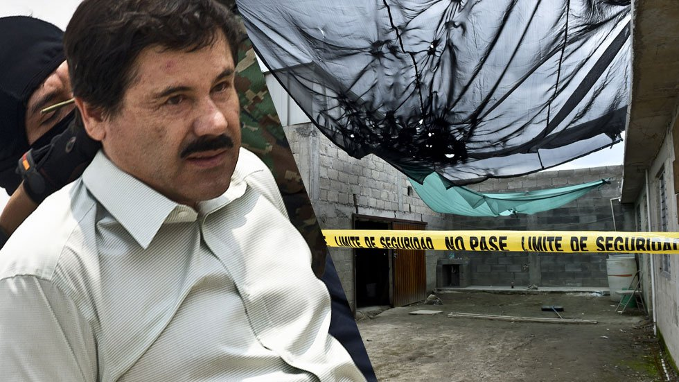 Mexican Drug Lord 'El Chapo' Breaks Out