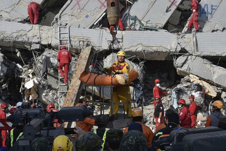 More rescued two days after Taiwan quake