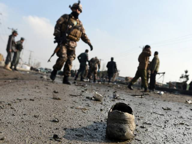 Suicide bomber in Afghan city kills three