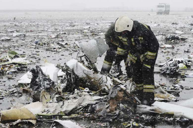 Flydubai plane crashes in Russia