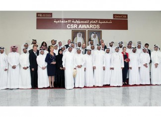 Sheikh Joaan Awarded CSR Person of 2015