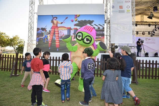 KidzMondo's characters enchant QIFF's young visitors