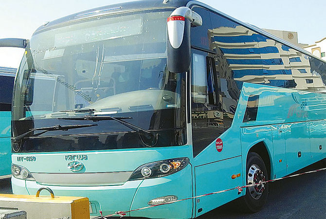 Mowasalat introduces intercity buses