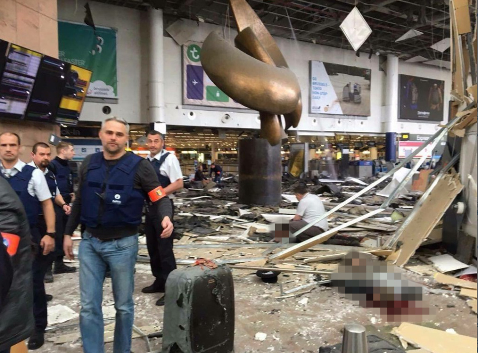 Brussels under attack: Many dead after explosions at airport and on Metro