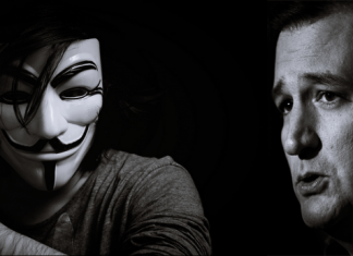 Anonymous Threatens To Expose Ted Cruz's Prostitution