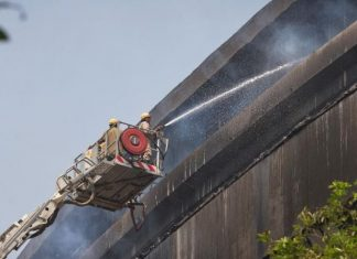 Fire at Indian natural history museum