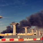 Fire at under-construction Mall of Qatar