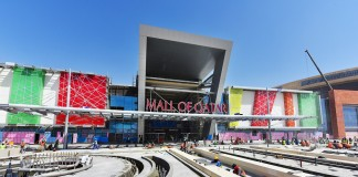Construction progress does not halt at Mall of Qatar