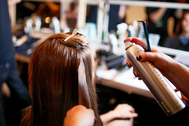 Closure of Qatar beauty center for expired hair dyes