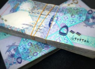 Monthly Average Salaries in Qatar