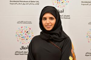 Festival Director of the Ajyal Youth Film Festival Fatma Al Remaihi poses during Day 1 of the Ajyal Youth Film Festival on November 26, 2013 in Doha, Qatar. (Photo: Andrew H. Walker/Getty Images North America)