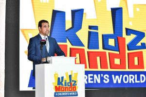 KidzMondo sets the foundation stone for its upcoming miniature