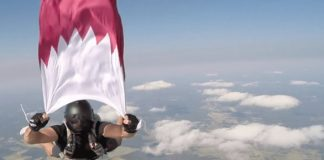 Qatar's first skydiving center