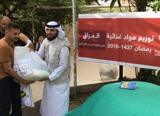 Distributes 8,000 Food Parcels to Fallujah Displaced