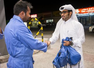 "WOQOD RAMADAN CSR Project ""Gratitude for Gas Station Attendants """