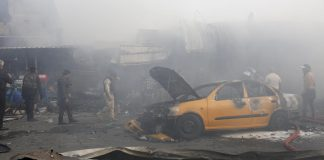 Bombing at market near Baghdad kills seven