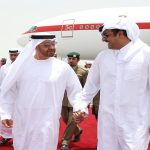 Emir Welcomes Abu Dhabi Crown Prince Upon Arrival