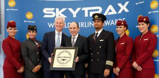 Qatar Airways Win World's best Business Class at 2016 Skytrax