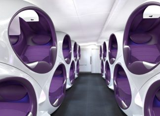 Airline cabins of the future