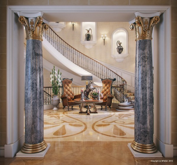luxury-villa-entry
