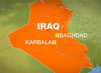 Attack kills 18 people near Karbala