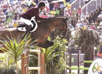 Equestrian jumping final at Rio