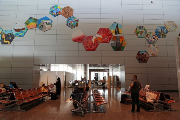 Latest Public Art Installations at Hamad International Airport