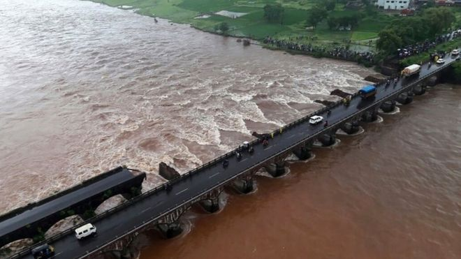 Many missing after India bridge collapse