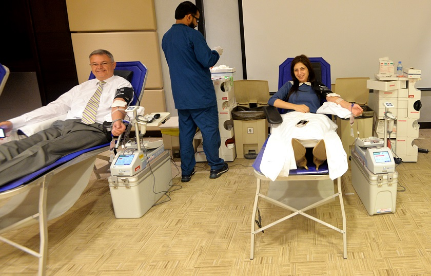 Oryx Rotana hosts Blood Donation campaign