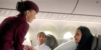 Qatar Airways ranked best airline for in-flight experience