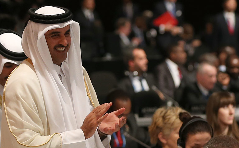 HH the Emir Participates in Opening Session of COP 22